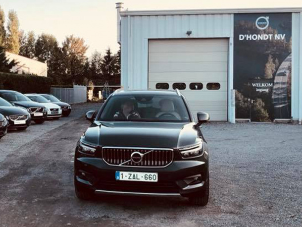 Pop-up-showroom Volvo D'Hondt Aalst
