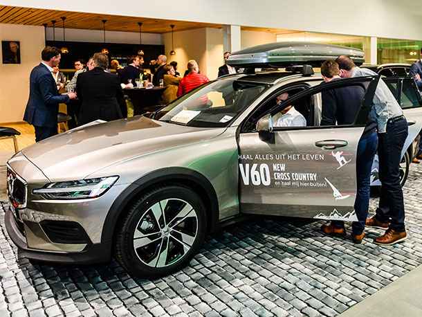 De nieuwe Volvo V60 Cross Country is er!