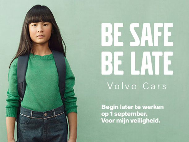 Be Safe Be Late - Volvo D'Hondt - Reynaert
