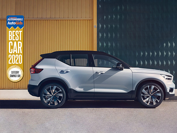 Volvo XC40 verkozen tot Best Car Award 2020