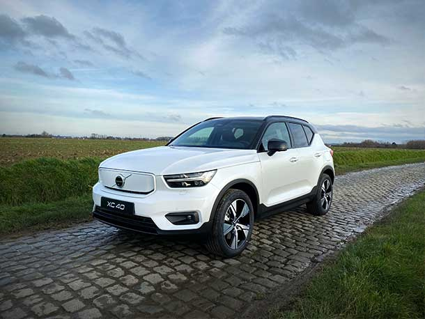 De nieuwe Volvo XC40 P8 Recharge - full electric is er