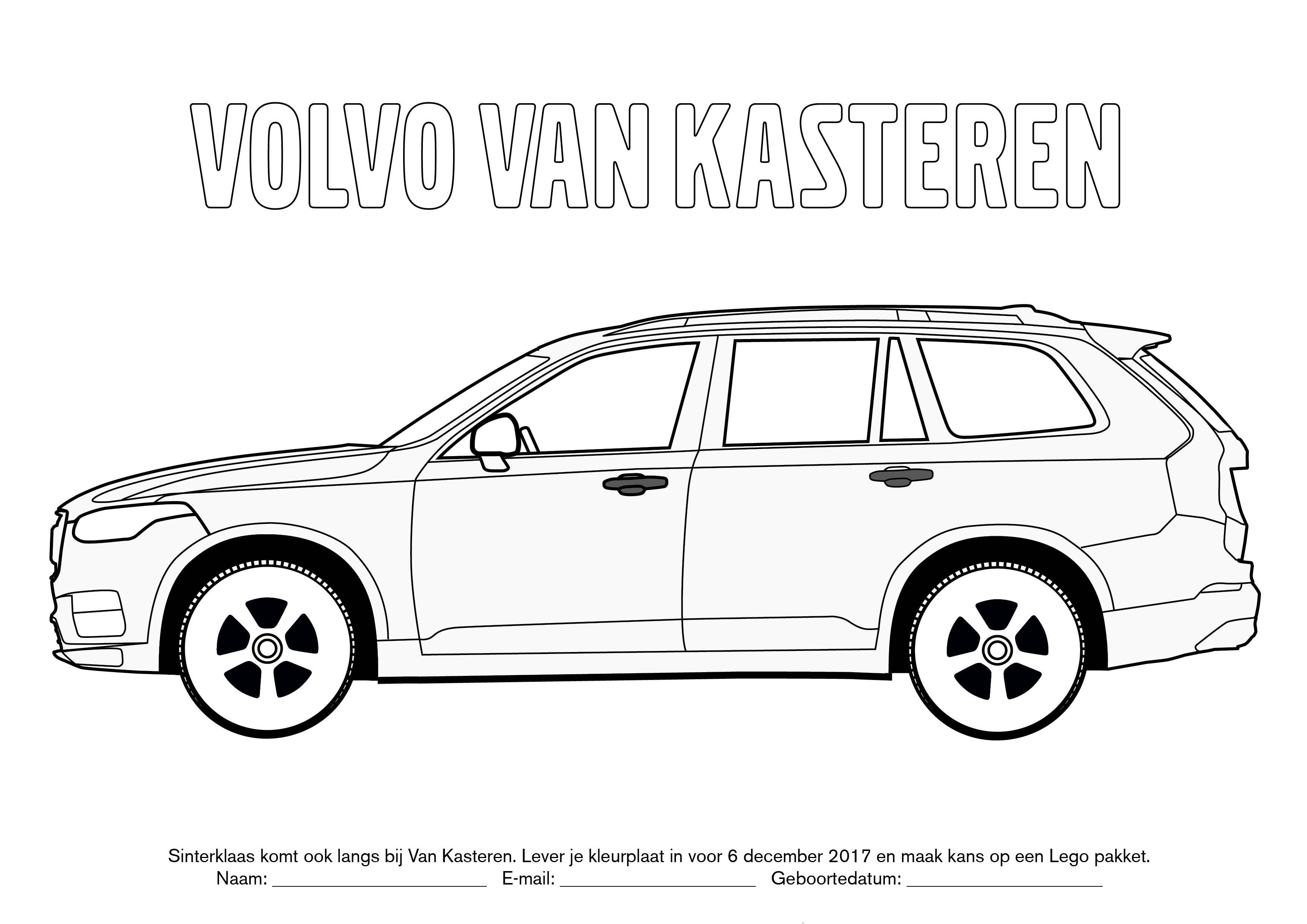 Volvo V90 Kleurplaat Volvo Cars Van Kasteren Dendermonde